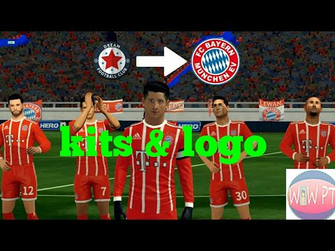 How to create Bayern Munich kits & logo – Dream League Soccer 2018
