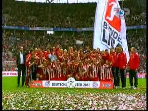 FC BAYERN MÜNCHEN – STERN DES SÜDENS (DEUTSCHER MEISTER 2010)