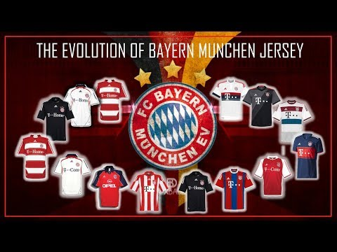 The Evolution of Bayer Munchen Jersey