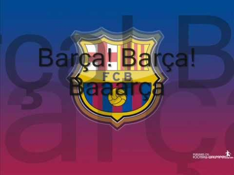 FCBarcelona Song with Lyrics – Anthem (English/Catalan)