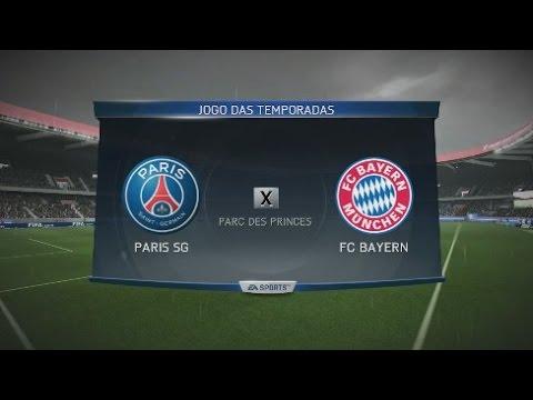 Fifa 16 Online Gameplay (PS3) PSG vs Bayern Munich