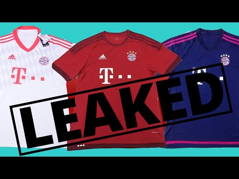 LEAKED! Bayern Munich 2015/16 Kit- HOME/ AWAY/ THIRD