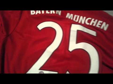 2015-16 Bayern Munich Home Shirt Adizero Jersey