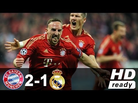 Bayern münchen vs Real Madrid 2-1 Highlights Uefa Champions league