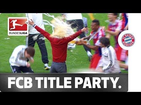 FC Bayern Celebrate Like True Champions