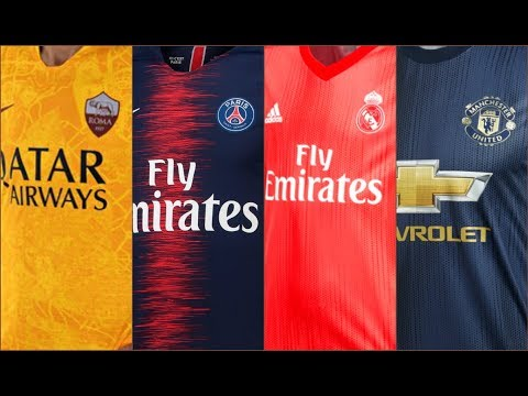TOP 20 Best Kits in Europe 2018/2019