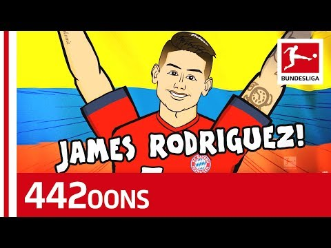 James Rodriguez Goal Celebration Song – Powered By 442oons