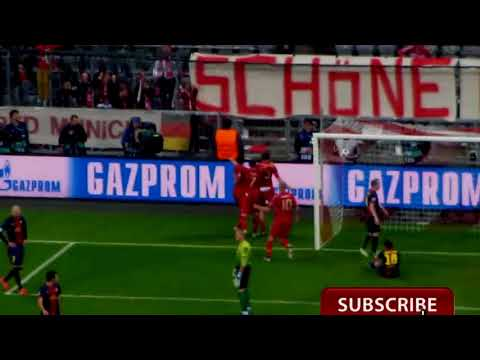 Bayern Munich fans singing & celebrate goals & chants  amazing atmosphere