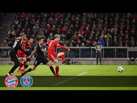 Bayern Munich vs PSG – 3 : 1 UEFA Champions League Goals & Highlights (05 December 2017)