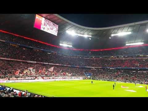 Südkurve München FC Bayern München gegen Schalke  9.2.2019 Forever Number one