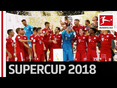 FC Bayern München Trophy Lifting – 2018 Supercup