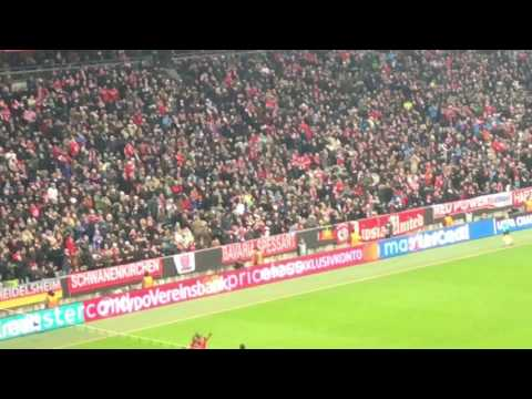 Robert Lewandowski goal vs atletico Madrid from the stand in 4K