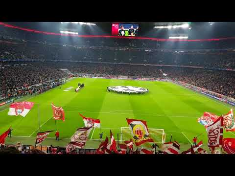 FC Bayern München gegen Paris SG am 5.Dezember 2017