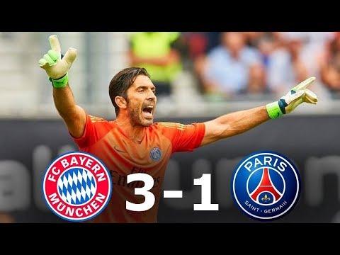 Bayern Munich vs PSG 3-1 Highlights | Resumen y Goles | Friendly – 20/07/2018 HD