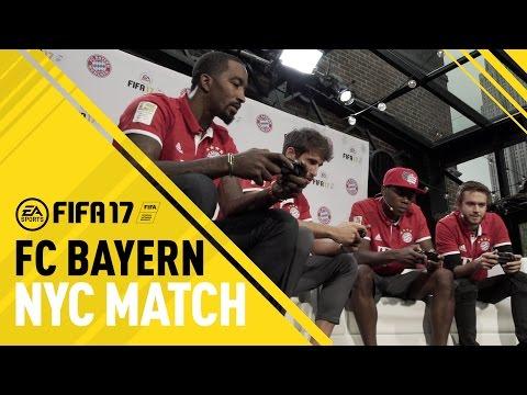 FIFA 17 – FC Bayern in NYC – ft. J.R. Smith, Zedd, David Alaba, Javi Martinez