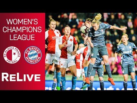 SK Slavia Praha vs. FC Bayern 1-1 | UEFA Women's Champions League 2018/19 – Quarter-Final | ReLive