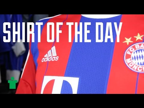 Shirt of the Day – Bayern München 2014/15 Home Shirt