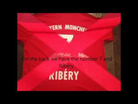FC Bayern 2015/16 Long Sleeve Home Kit Review(7 Ribery) www.pickupjerseys.ru