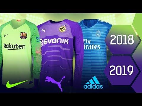 Goalkeeper kits Of The Biggest Clubs II 2018 – 19 II