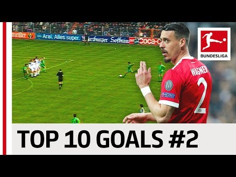 Top 10 Best Goals – Players with Jersey Number 2