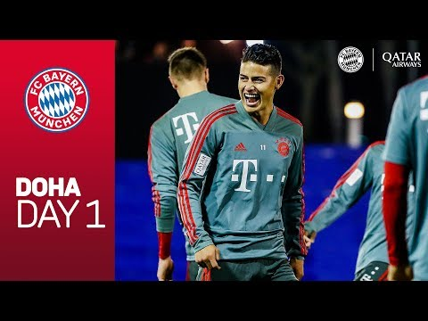 FC Bayern arrive at Training Camp | Doha – Day 1