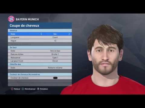 [PES 2017] BAYERN MÜNCHEN players face & hair