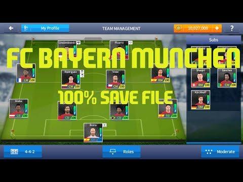 Dream League Soccer 2017 – FC Bayern Munchen 100 Power Save File