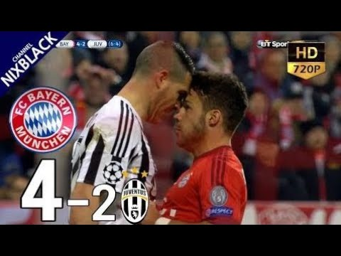 Bayern Munich 4-2 Juventus 2016 UCL Round of 16 2nd Leg All Goals & Extended Highlight HD/720P