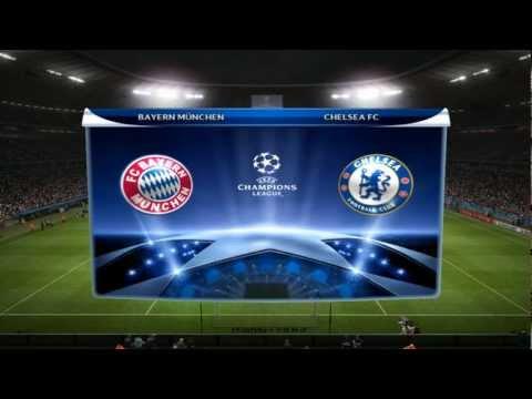 Champions League Final 2012 – Bayern München vs Chelsea FC [PES 2012 edit]