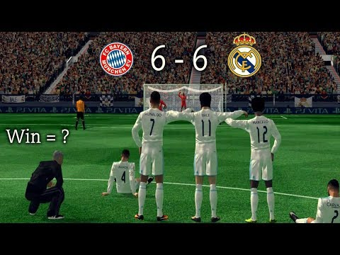 Real Madrid vs Bayern Munich (6-6)   FTS Penalty Gameplay