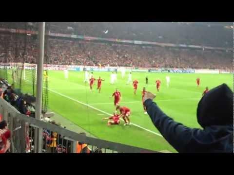 FC Bayern München – Real Madrid CL Halbfinale 17.04.2012 TOR 1:0 Franck Ribéry !!! LIVE in HD !!!