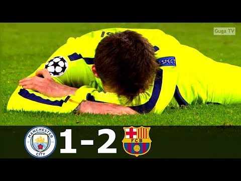 Manchester City vs Barcelona 1-2 – UCL 2014/2015 – Highlights (English Commentary) HD