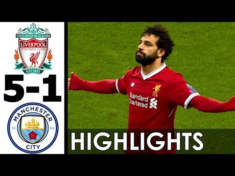 Liverpool vs Manchester City 5-1 Goals and Highlights w/ English Commentary (UCL) 2017-18 HD 720p