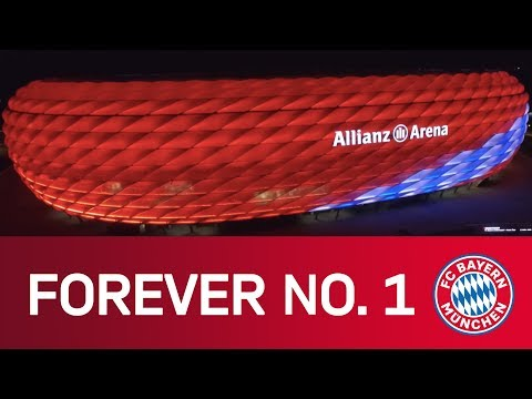FC Bayern Forever No. 1 | Spectacular drone views of the Allianz Arena | Music Video
