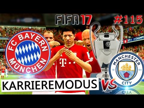 CHAMPIONS LEAGUE FINALE FC Bayern München vs Manchester City (Fifa 17 Karrieremodus #115) -Deutsch-