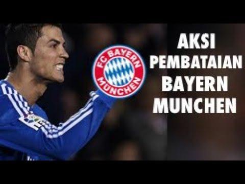 Aksi Ronaldo Bantai Bayern Munchen Sampe Hancur