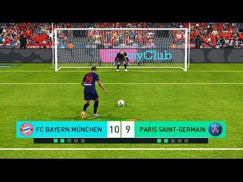 PES 2018 | BAYERN MUNICH vs PSG | Buffon debut | Penalty Shootout | Gameplay PC