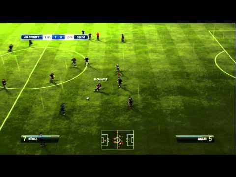 FIFA 12 Online Liverpool VS PSG