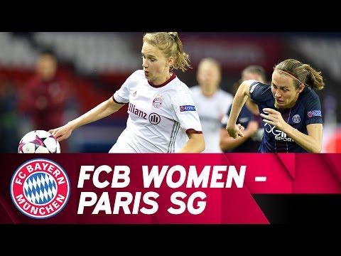 Paris St. Germain – FC Bayern Women 4-0 | Highlights Champions League Quarter Final