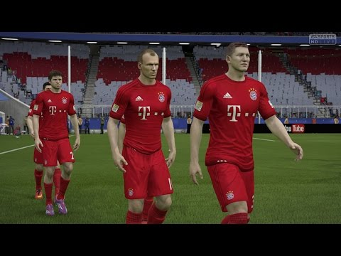 FIFA 15 | New Home Kits 2015/16 – FC Bayern – FC Barcelona – Real Madrid – Borussia Dortmund