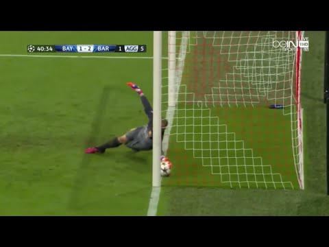 Ter Stegen best save of 2015 vs Bayern Munich – HD