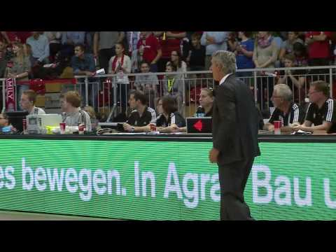 5. Spieltag: FC Bayern Basketball vs FRAPORT SKYLINERS 97:65