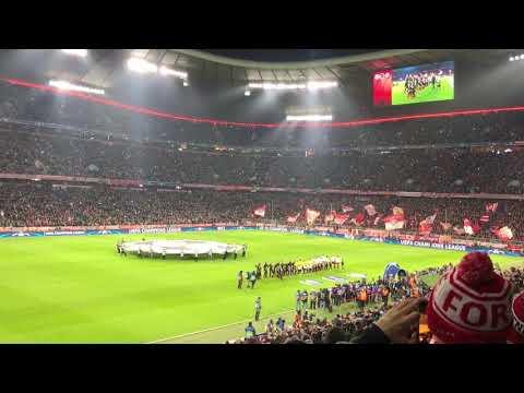 Bayern Munich – Paris SG / UEFA Champions League Hymne / LIVE / Allianz Arena / Stadium Atmosphere