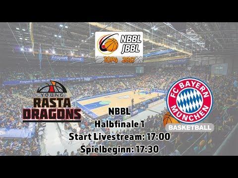 NBBL Halbfinale 1: YOUNG RASTA DRAGONS vs. FC Bayern München Basketball