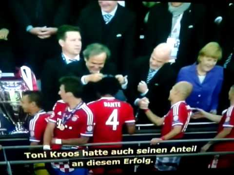 Champions League final 2013 winner/ FC Bayern Munich