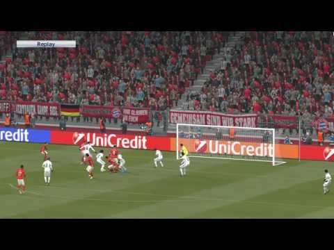 Bayern Munchen – Real Madrid | UEFA Champions League 12/04/2017 PES 2017 HD GAMEPLAY