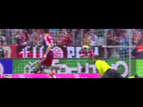 All Bayern München Goals 2014/2015 – Part 1 – First Half of Season