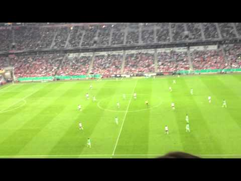 Chant after a Bayern Munchen Goal