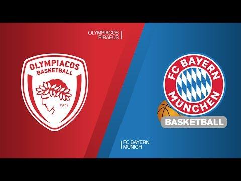 Olympiacos Piraeus – FC Bayern Munich Highlights | Turkish Airlines EuroLeague RS Round 27