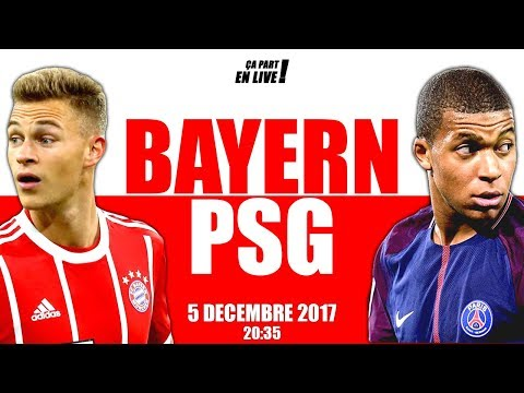 DIRECT : BAYERN – PSG (LIVE / 05-12 / 20h35 / LDC)